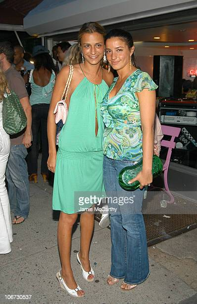 Charlotte Ronson and Shoshanna Lonstein Gruss during Charlotte Ronson and Lucky Magazine Celebrate The Grand Opening of The New C Ronson Store at C...