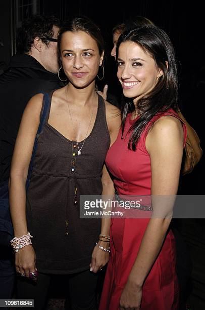 Charlotte Ronson and Shoshanna Lonstein Gruss during Olympus Fashion Week Fall 2006 Charlotte Ronson Party Backstage at The National Arts Club in New...