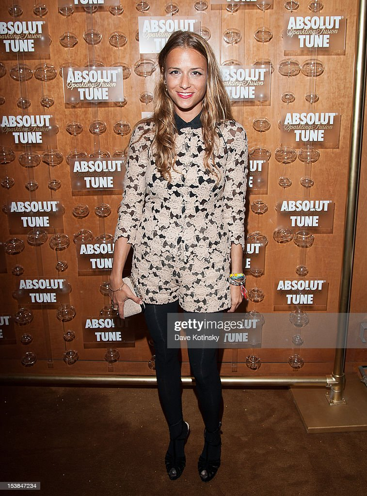 Charlotte Ronson attends the Absolut Tune Launch Party at The Top of The Standard on October 9, 2012 in New York City.