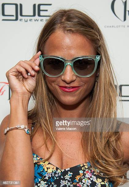 Charlotte Ronson attends the Council Of Fashion Designers Of America Celebrate The Launch Of The 4th Annual Design Series For Vogue Eyewearon party...