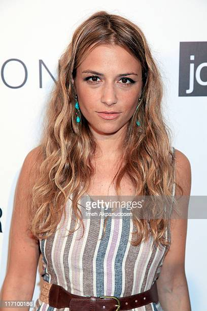 Charlotte Ronson attends the I Heart Ronson and jcpenney celebration of The I Heart Ronson Collection held at the Hollywood Roosevelt Hotel on June...