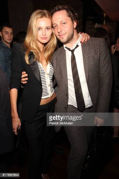 Charlotte Ronson Edita Vilkeviciute and Derek Blasberg attend Stylecom 10th Anniversary Celebration at Private Residence on September 14 2010 in New...