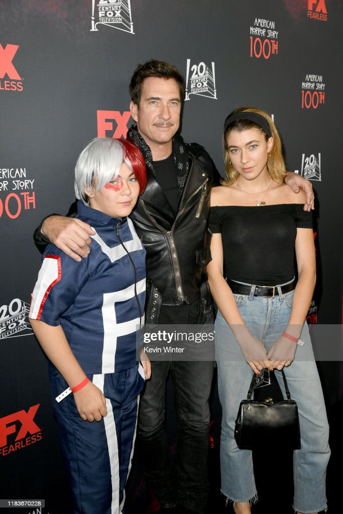 "FX's ""American Horror Story"" 100th Episode Celebration - Red Carpet : News Photo"