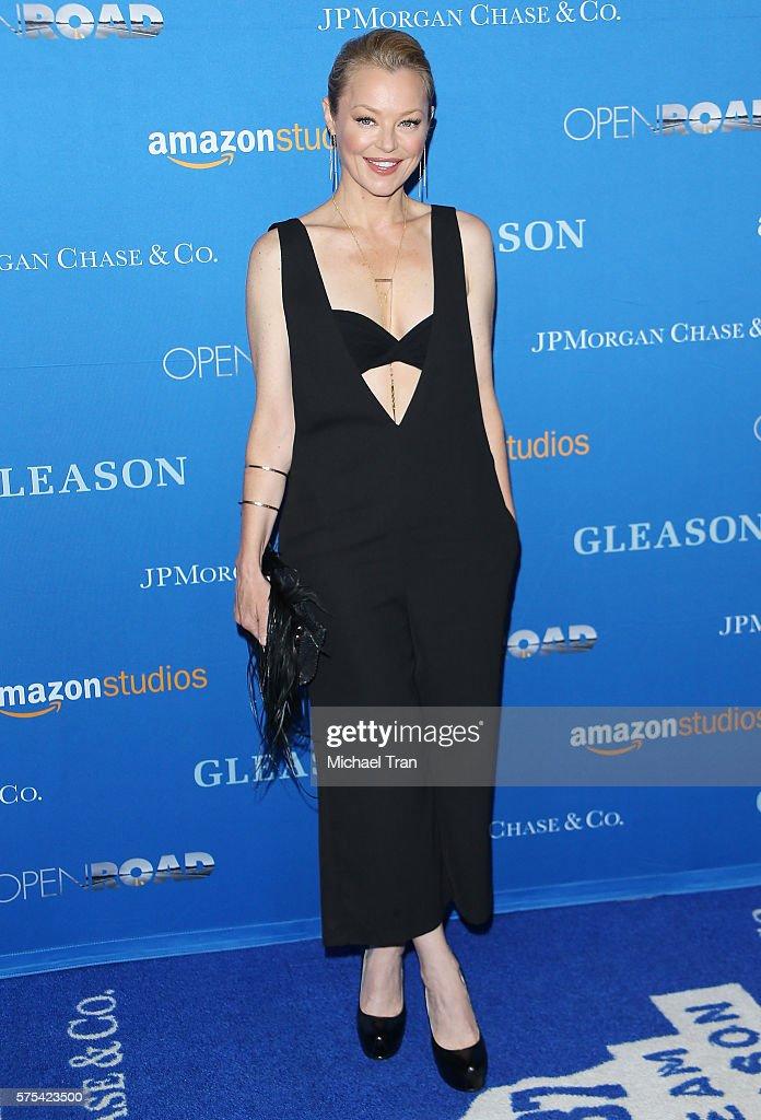 "Premiere Of Amazon Studios' ""Gleason"" - Arrivals : News Photo"