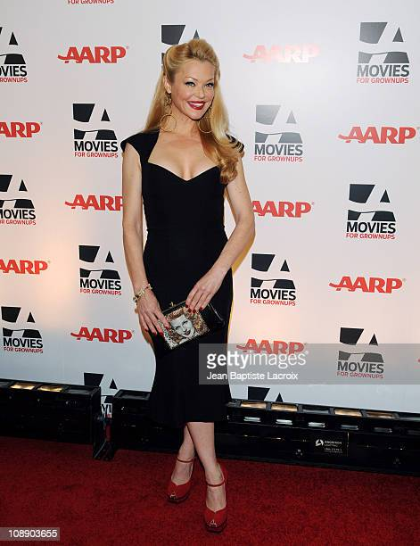 Charlotte Ross attends the AARP The Magazine's 10th Annual Movies for Grownups Award Gala at The Beverly Hilton hotel on February 7, 2011 in Beverly...