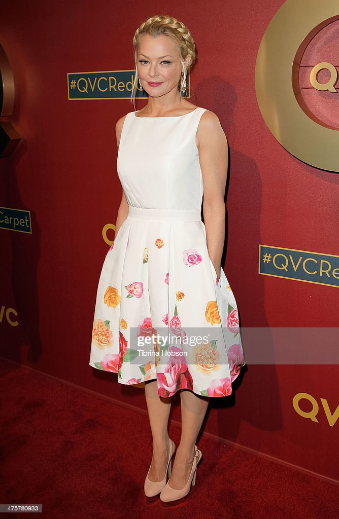 Charlotte Ross attends the QVC 5th annual red carpet style event at The Four Seasons Hotel on February 28, 2014 in Beverly Hills, California.