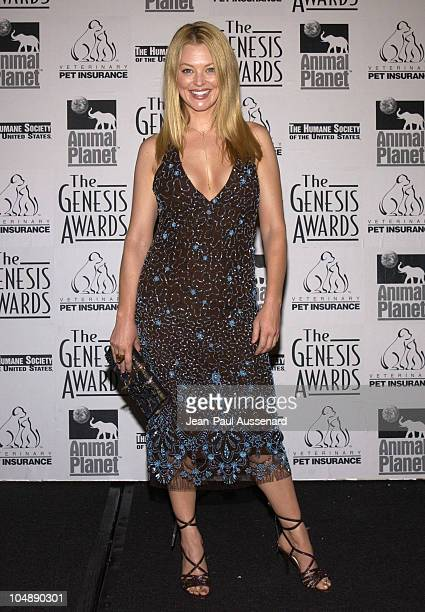Charlotte Ross during The 17th Annual Genesis Awards Pressroom at The Beverly Hilton in Beverly Hills California United States