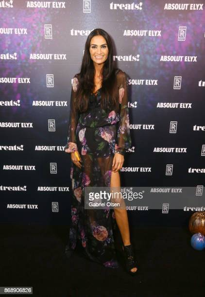 Charlotte Russe at treats Magazine's 7th Halloween Party in Partnership with RollsRoyce Black Badge Absolut Elyx Perrier Jouet on October 31 2017 in...