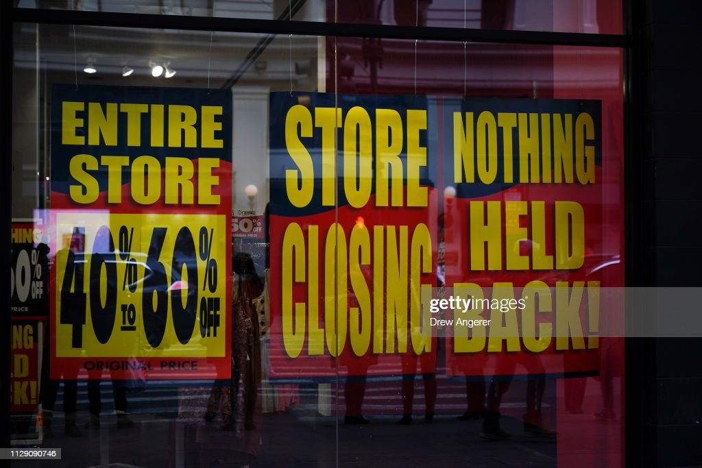 Clothing Store Charlotte Russe Announces Closure Of All Its Stores : News Photo