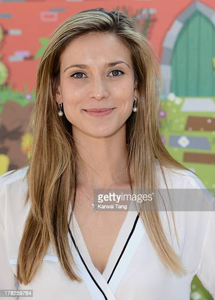 Charlotte Salt attends the Launch of a New Childrens App 'Henri Le Worm' held at Brasserie Blanc on August 28 2013 in London England