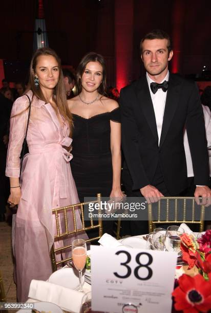Charlotte Santo Domingo Dasha Zhukova and Stavros Niarchos attend The DKMS Love Gala 2018 at Cipriani Wall Street on May 2 2018 in New York City