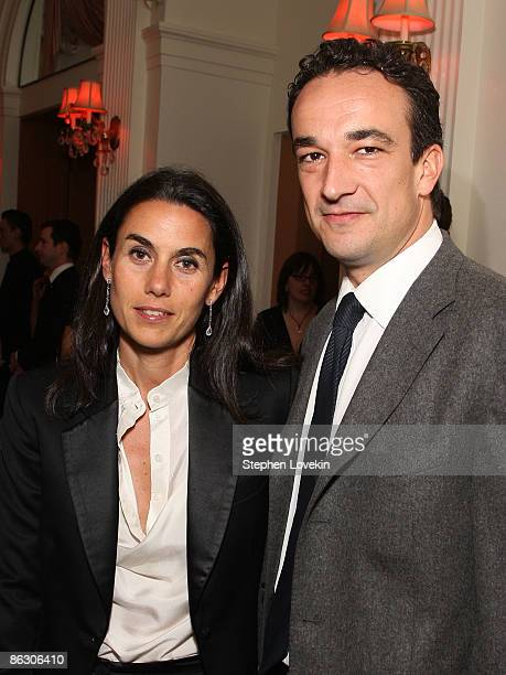 Charlotte Sarkozy and Olivier Sarkozy attends the Cartier 100th Anniversary in America Celebration at Cartier Fifth Avenue Mansion on April 30 2009...