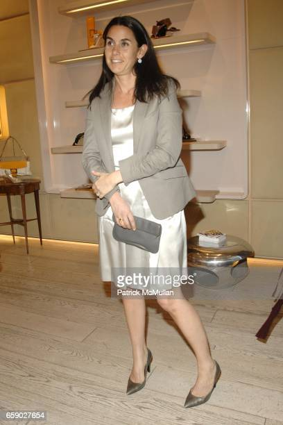 Charlotte Sarkozy attends ROGER VIVIER Party to Preview The Spring/Summer Cut Up a Unique and Personalized Bag at Roger Vivier on April 27 2009 in...