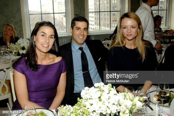 Charlotte Sarkozy Jim Gold and Delphine ArnaultGancia attend BERGDORF GOODMAN DELPHINE ARNAULTGANCIA Luncheon for CHRISTIAN DIOR Spring 2009...