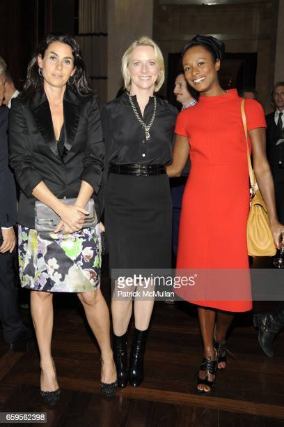 Charlotte Sarkozy Linda Wells and Shala Monroque attend Gwyneth Paltrow and VBH's Bruce Hoeksema Host Cocktail Party for Valentino The Last Emperor...
