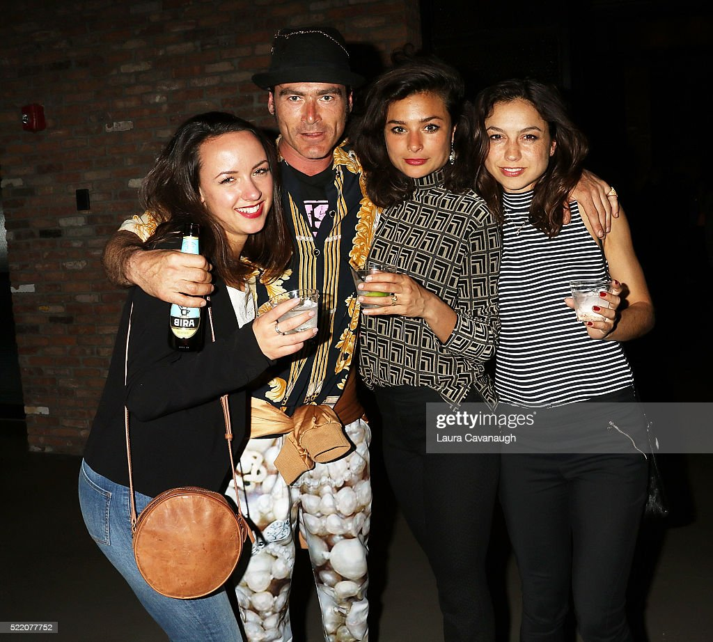 Charlotte Scott Wilson, Charlie Chan Dagelet, Job Reuten and Marielot van der Slikke attend Shorts Filmmakers Party - 2016 Tribeca Film Festival at Eventi Hotel on April 17, 2016 in New York City.