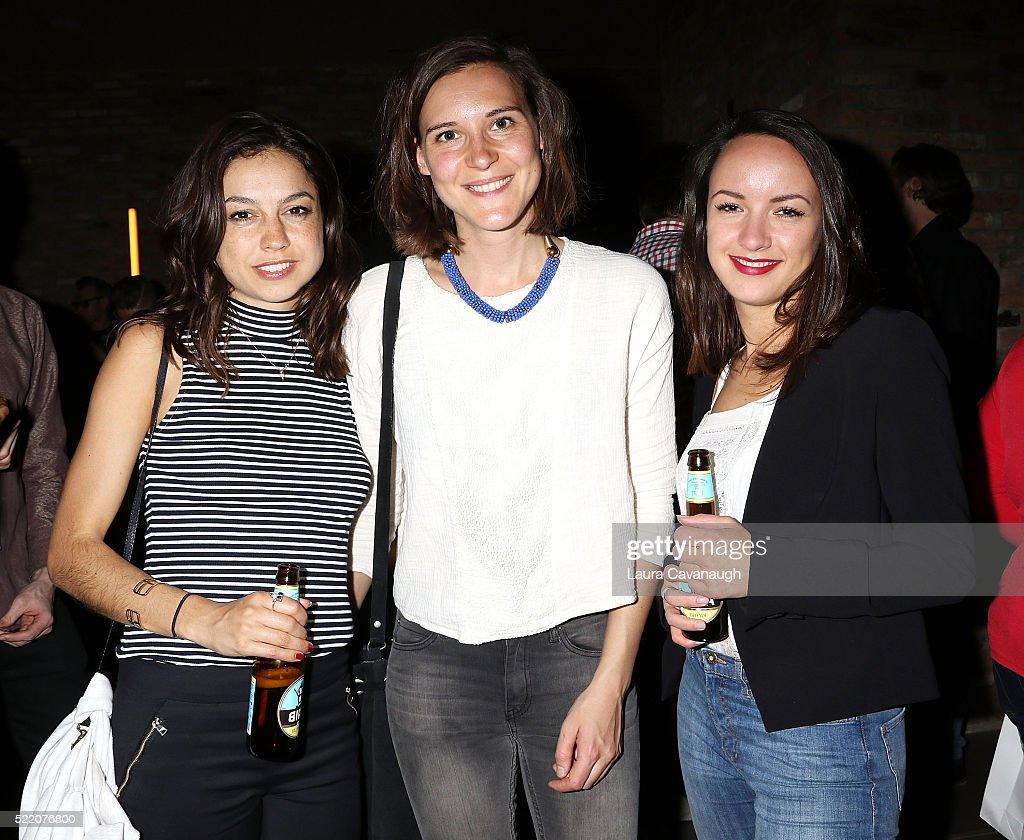 Charlotte Scott-Nilson, Frederike Migom and Marielot van der Slikke attend Shorts Filmmakers Party - 2016 Tribeca Film Festival at Eventi Hotel on April 17, 2016 in New York City.