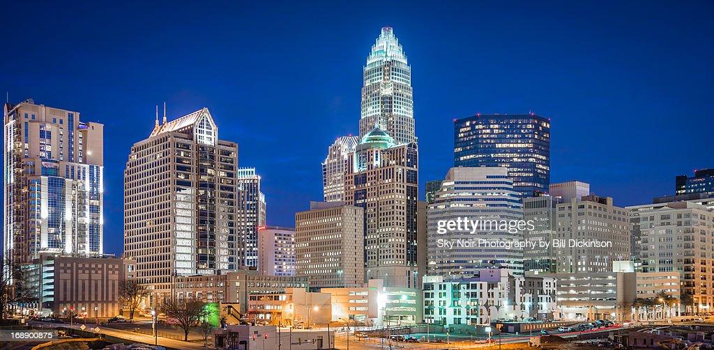 Charlotte Skyline : Stock Photo