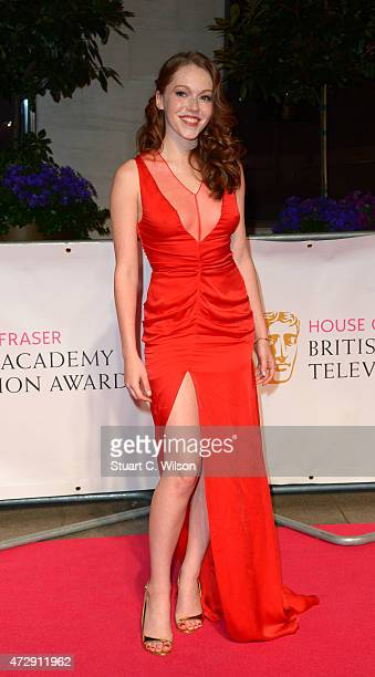 Charlotte Spencer attends the After Party dinner for the House of Fraser British Academy Television Awards at The Grosvenor House Hotel on May 10...