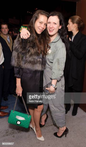 3b726fbab91cd9 Charlotte Stockdale and Katie Grand attend the Prada Congo Art Party at The Double  Club on. Prada Congo Benefit Party