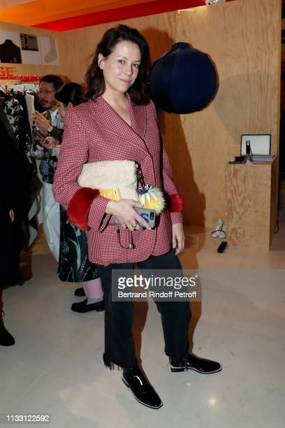 Charlotte Stockdale attends the LVMH Prize 2019 Edition at Louis Vuitton Avenue Montaigne Store on March 01 2019 in Paris France