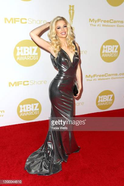 Charlotte Stokely attends the XBIZ Awards 2020 on January 16 2020 in Los Angeles California