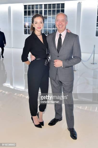 Charlotte Taschen and Benedikt Taschen attend Mr Chow 50 Years on February 16 2018 in Vernon California