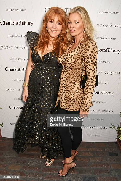 Charlotte Tilbury and Kate Moss attend as Charlotte Tilbury celebrates the launch of her first fragrance 'Scent Of A Dream' with 'face' Kate Moss...