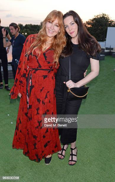 Charlotte Tilbury and Liv Tyler attend the London launch of intothewhite Darren Strowger's ambitious new tech platform raising money for Teenage...