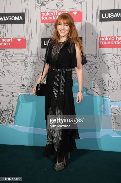 Charlotte Tilbury arrives at the Fabulous Fund Fair event during London Fashion Week February 2019 at the The Roundhouse on February 18 2019 in...