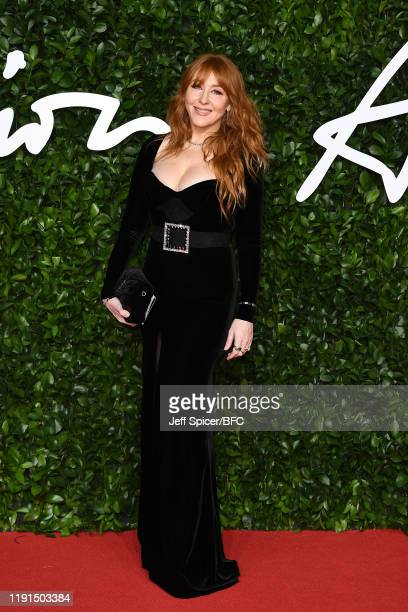 Charlotte Tilbury arrives at The Fashion Awards 2019 held at Royal Albert Hall on December 02 2019 in London England