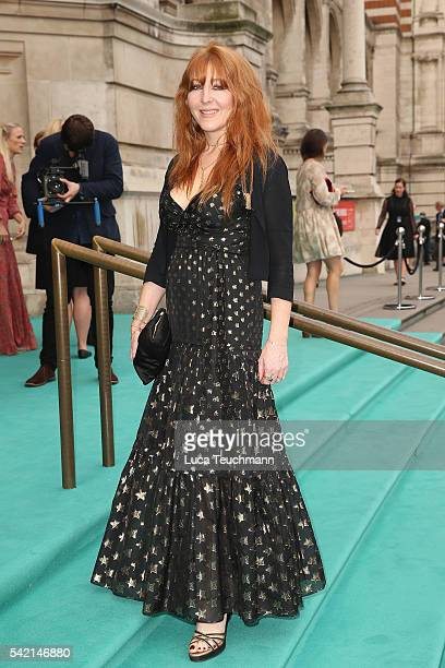 Charlotte Tilbury arrives for the VA Summer Party at Victoria and Albert Museum on June 22 2016 in London England