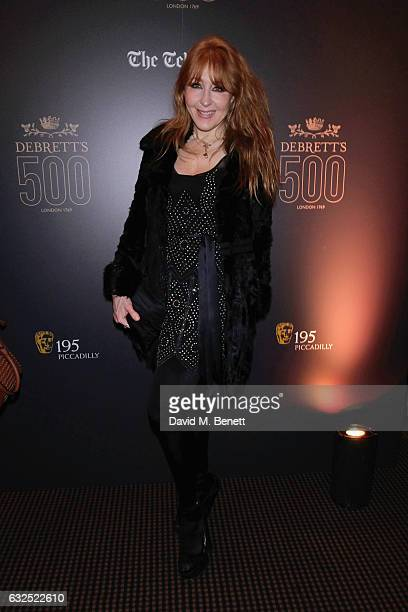 Charlotte Tilbury attends Debrett's 500 Gala at BAFTA sponsored by BMW and Hugo Boss on January 23 2017 in London England