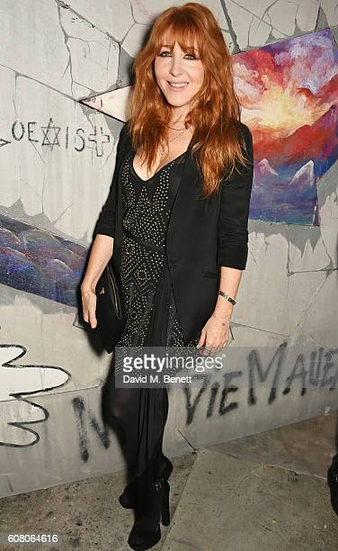 Charlotte Tilbury attends LOVE Magazine and Marc Jacobs LFW Party to celebrate LOVE 165 collector's issue of LOVE and Berlin 1989 at Loulou's on...