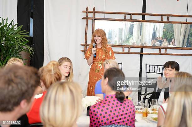 Charlotte Tilbury attends NETAPORTER Celebrates Women Behind The Lens at Chateau Marmont on February 26 2016 in Los Angeles California