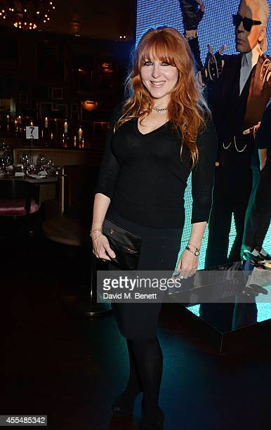 Charlotte Tilbury attends The Business of Fashion celebrating the #BOF500 the people shaping the global fashion industry at The London EDITION on...