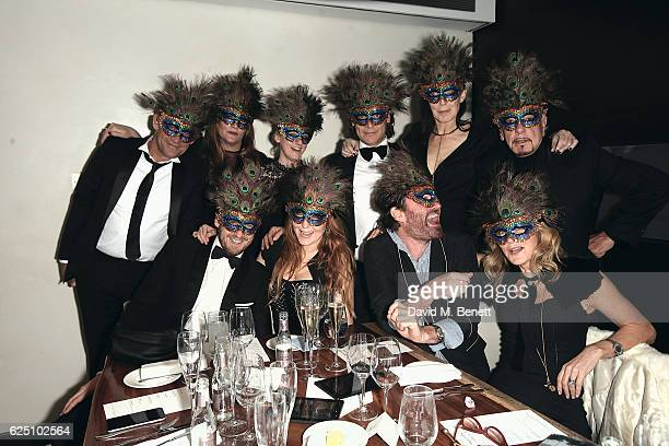 Charlotte Tilbury Nick Haddow Nicky Haslam Annabel Brooks George Waud and Guests attend a VIP dinner to celebrate The Animal Ball 2016 presented by...