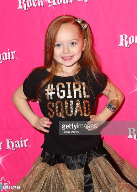Charlotte Townsend at Rock Your Hair Presents Rock Back to School concert and party on September 30 2017 in Los Angeles California