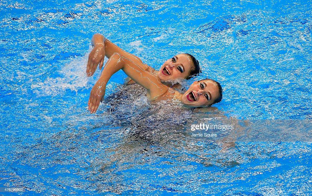 Synchronised Swimming - Day 0: Baku 2015 - 1st European Games : News Photo