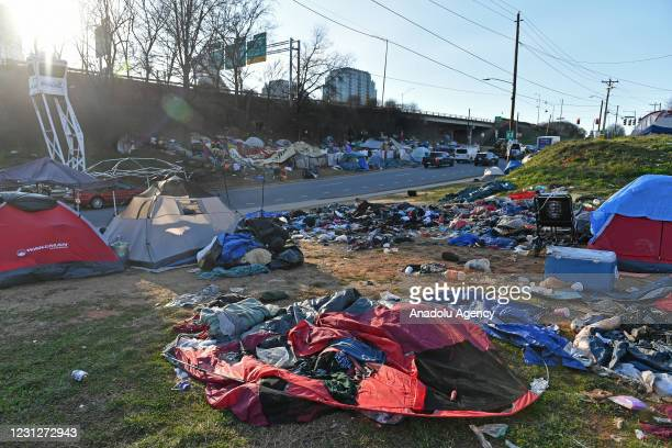 Charlotte uptown's North End encampment developed into more than 100 'residents' since its start in March 2020, but county officials ordered the...
