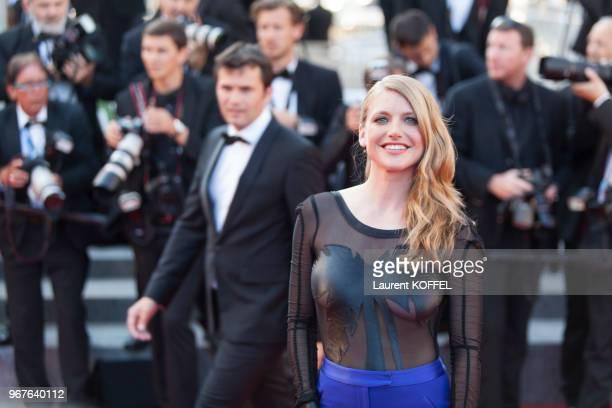 Charlotte Vandermeersch lors de la première du film 'Le Petit Prince' pendant le 68eme Festival du Film Annuel au Palais des Festivals le 22 mai 2015...