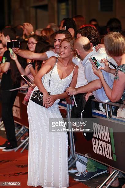 Charlotte Vega attends the 'Refugiados' premiere during the 6th FesTVal Television Festival 2014 day 3 on September 3 2014 in VitoriaGasteiz Spain