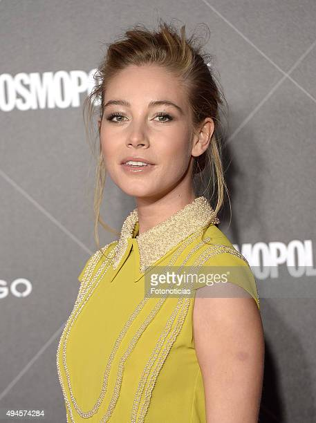 Charlotte Vega attends the VIII Cosmpolitan Awards at The Ritz Hotel on October 27 2015 in Madrid Spain