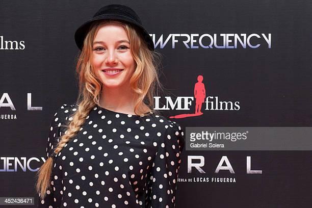 Charlotte Vega attends 'Viral' Madrid Premiere at Capitol cinema on November 28 2013 in Madrid Spain