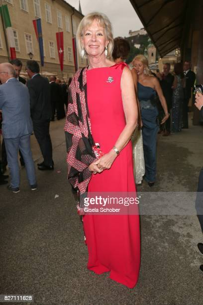 Charlotte von Bismarck attends the 'Aida' premiere during the Salzburg Opera Festival 2017 on August 6, 2017 in Salzburg, Austria.