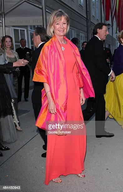 Charlotte von Bismarck Schoenhausen attends the opening of the easter festival 2014 on April 12, 2014 in Salzburg, Austria.