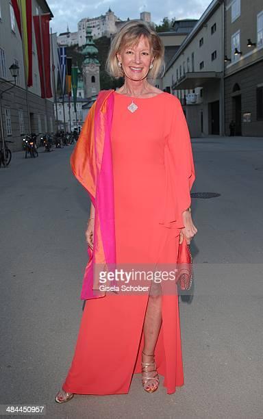 Charlotte von Bismarck Schoenhausen attends the opening of the easter festival 2014 on April 12 2014 in Salzburg Austria