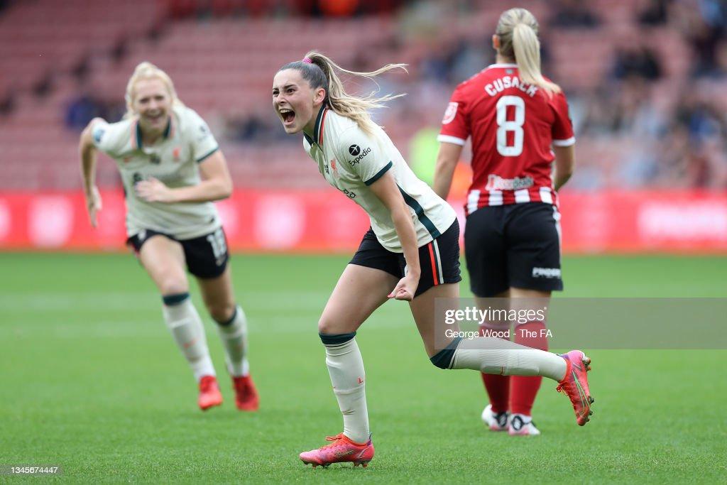 Sheffield United Women v Liverpool Women - Barclays FA Women's Championship : Nachrichtenfoto