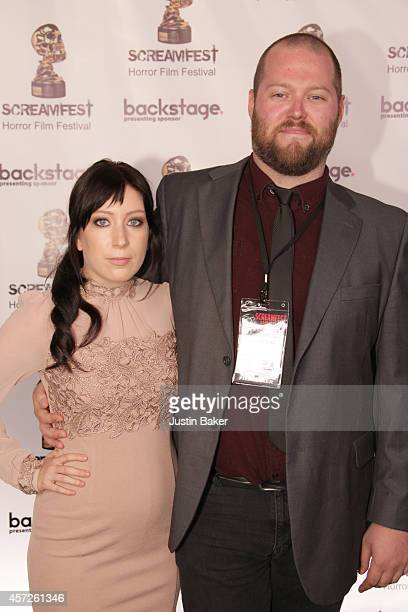 Charlotte Waters and Director/Writer Lee Boxleitner attend the Screamfest Horror Film Festival Black Carpet Event at TCL Chinese Theatre on October...