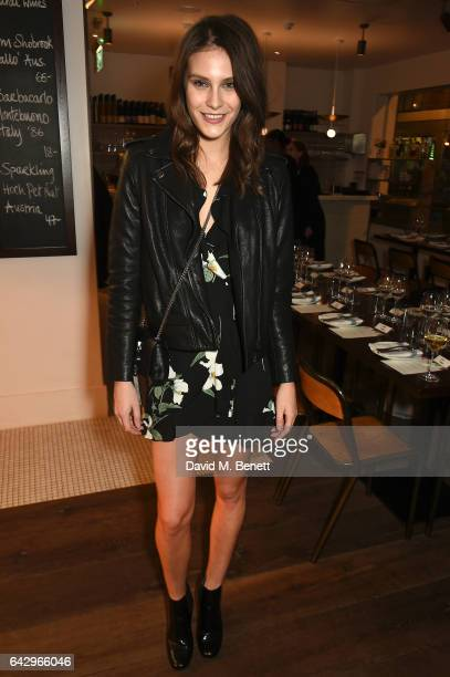 Charlotte Wiggins arrives as Topshop and Leandra Medine host dinner to celebrate London Fashion Week on February 19 2017 in London England